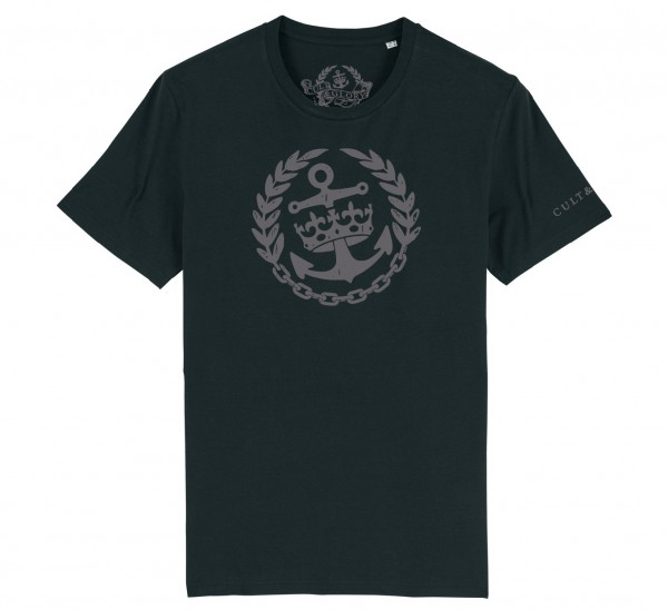 Cult & Glory Crown & Anchor Shirt 2019 - Midnight Blac