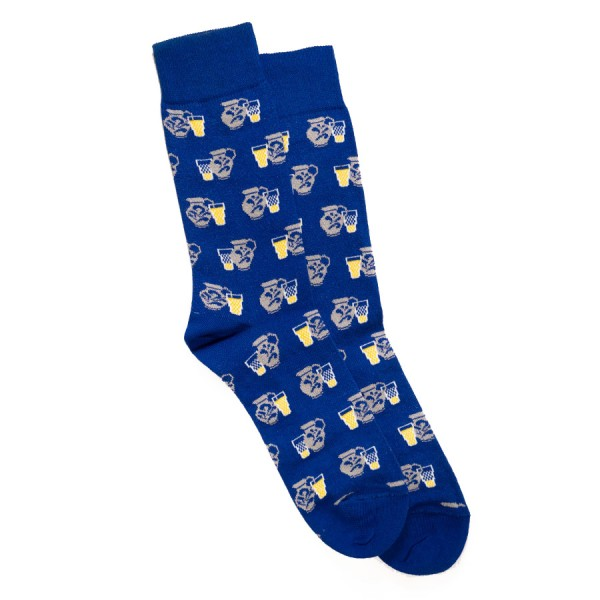 Schönwetterfront Bembel Socken