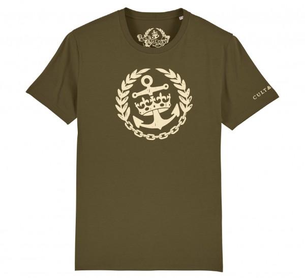 Cult & Glory Crown & Anchor Shirt 2019 - Jeep Green