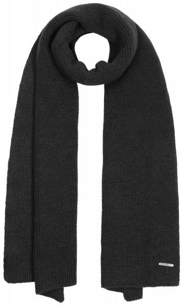 Stetson Schal Merino Wool - black
