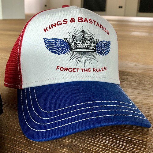 "Kings & Bastards Cap ""Forget the Rules"""