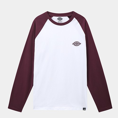 Dickies Youngsville Baseball L/S T-shirt - Maroon