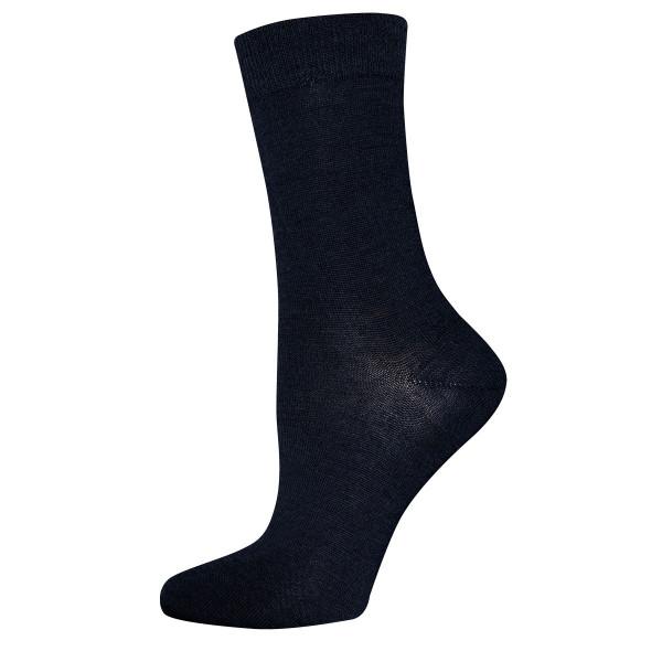 701017-0129 Ewers - Socken GOTS - MARINE