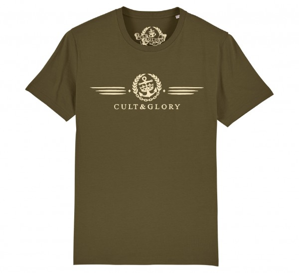 Cult & Glory Winged Shirt 2019 - Jeep Green