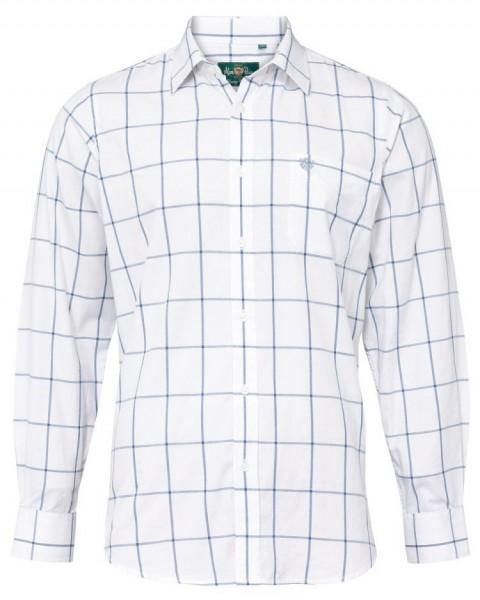 Alan Paine Aylesbury Herrenhemd Langarm Blau