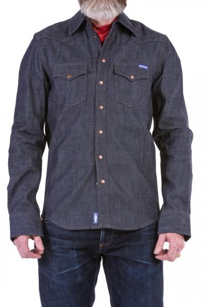 Blaumann Hemd schmal dunkel 8 oz