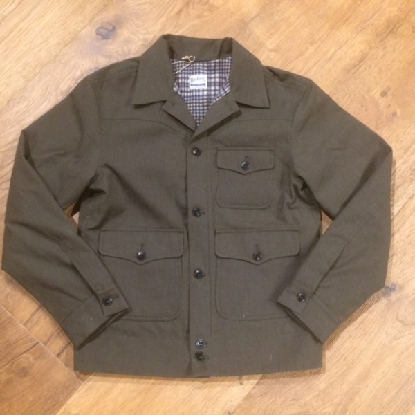 Blue Blanket J15 IT19 Jacket lined - dark green