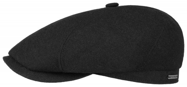 Stetson 6-Panel Cap Virgin Wool/Cashmere schwarz