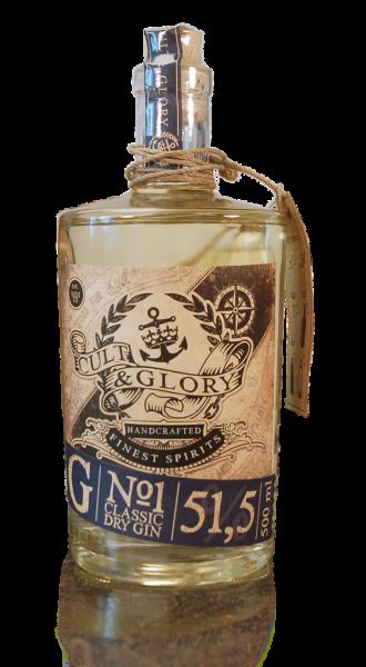 Cult & Glory No1 Gin (The Gentleman)