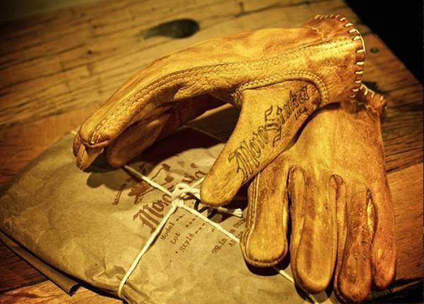 """MotoStuka Bronze """"Shanks"""" Gloves"""