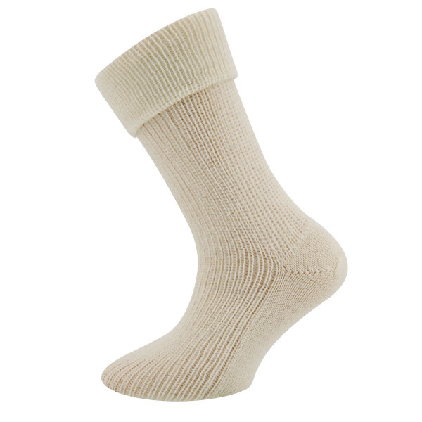 203002-0909 Ewers - Socken Alpaka/Merino - NATUR