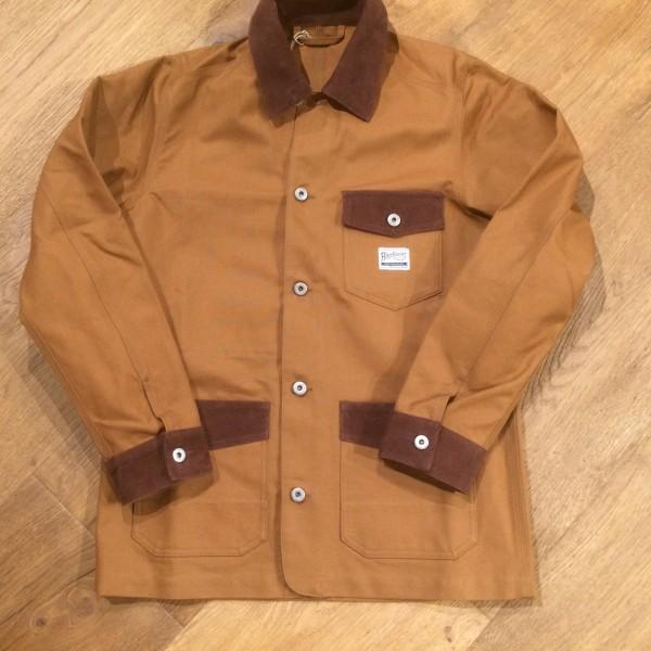 Blue Blanket Work Jacket J11 T23 - brown