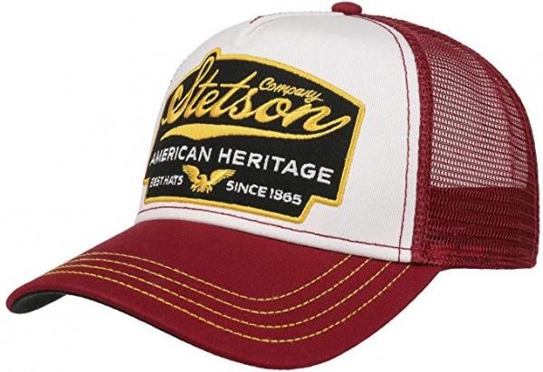 Stetson Trucker Cap American Heritage - bordeaux