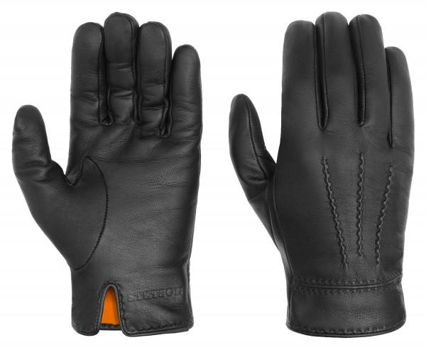 Stetson Handschuhe Ziegen-Nappa schwarz