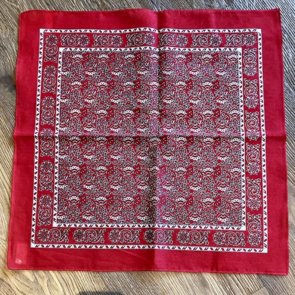 3540_80 Bandana (Halstuch) - Rot