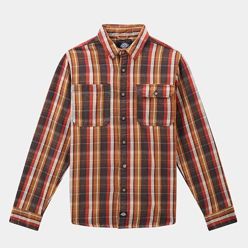 Dickies Glenmora Shirt - Brown Duck