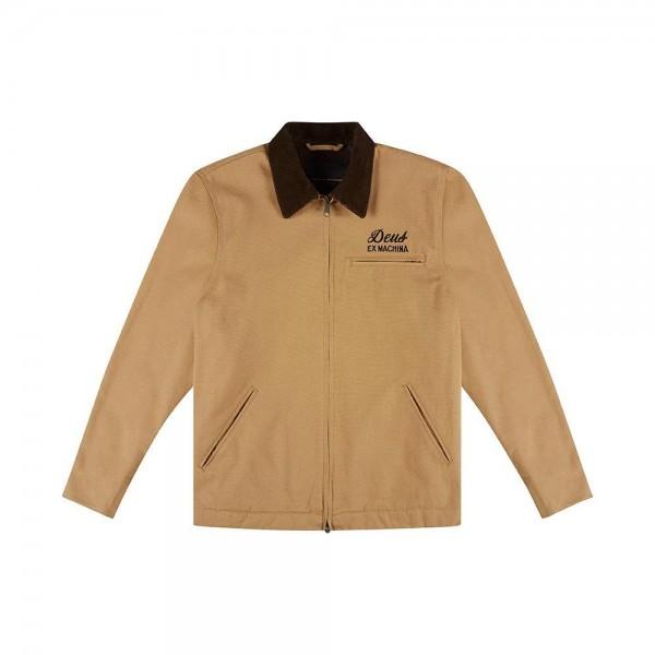 Deus Ex Machina Address Workwear Jacket - Dijon