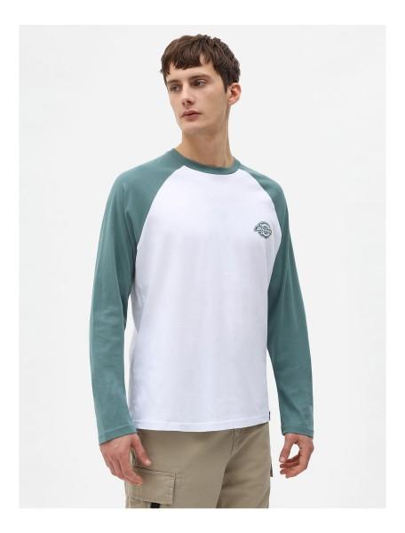 DK0A4XDFLN01 Dickies Cologne Long Sleeve T-Shirt - Lincoln Green