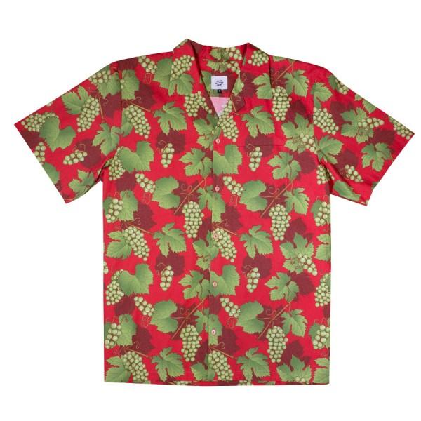 Schönwetterfront Riesling Hawaiihemd - rot