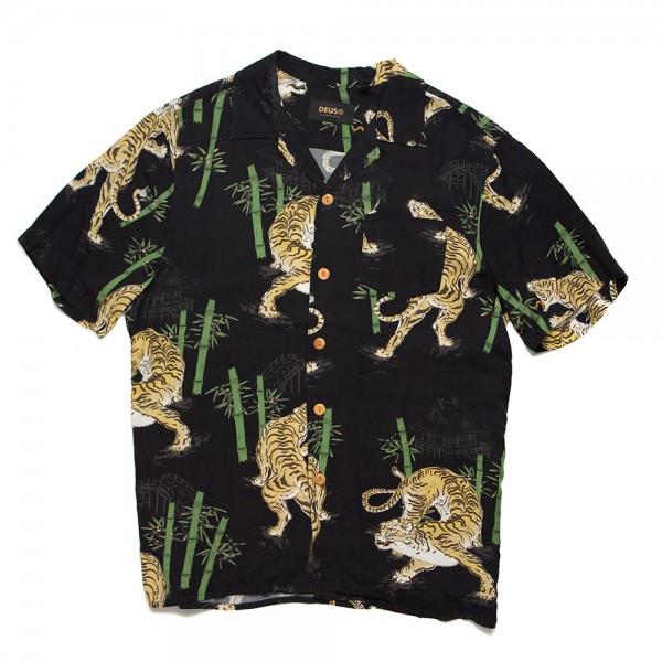 DMS205972 Deus Ex Machina Solstice Ss Shirt - washed black