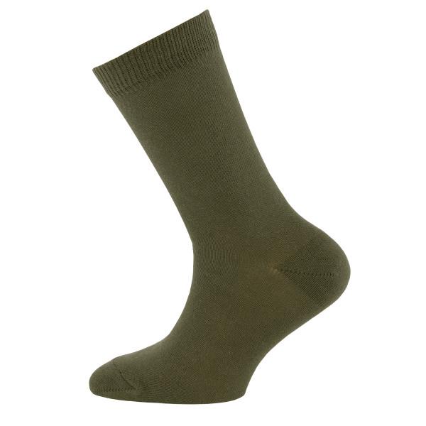 701001-0848 Ewers - Socken Uni - KHAKI