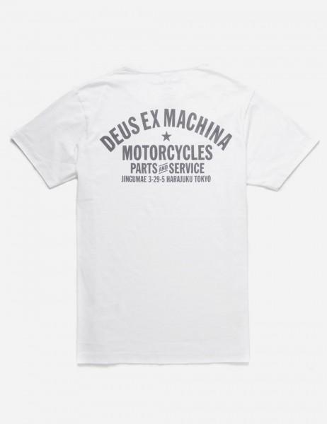 Deus Ex Machina Tokyo Address T-shirt - White