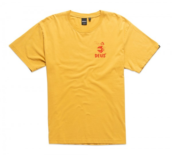 Deus Ex Machina Kraftwerk Tee - Honey Gold