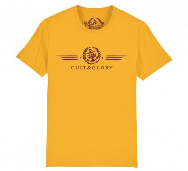 Cult & Glory Winged Shirt 2019 - Sunrise Yellow