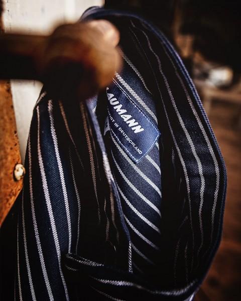 Blaumann Schlupfhemd mit Streifen - KORNBLAU-WEISS