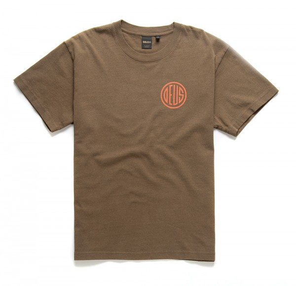 Deus Ex Machina Pill T-shirt - Dark Olive