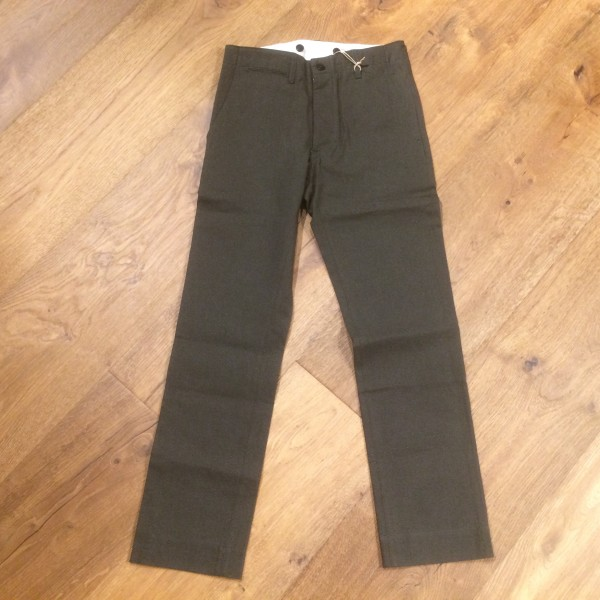 Blue Blanket P23 IT19 Pants - dark green