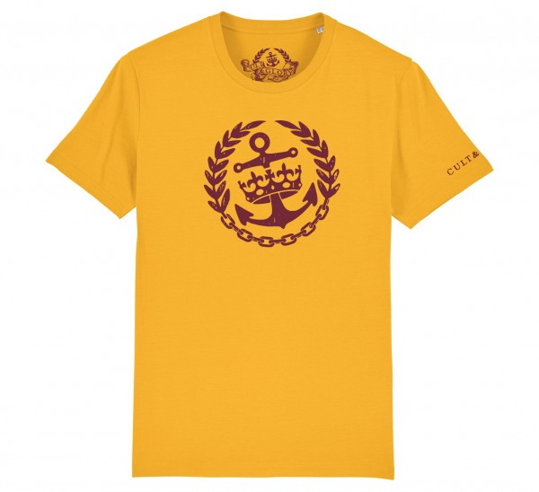 Cult & Glory Crown & Anchor Shirt 2019 - Sunrise Yellow