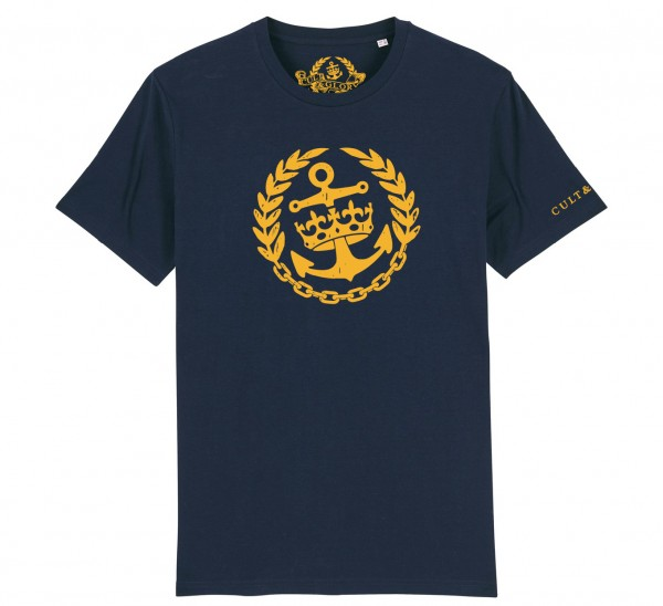 Cult & Glory Crown & Anchor Shirt 2019 - Navy Blue