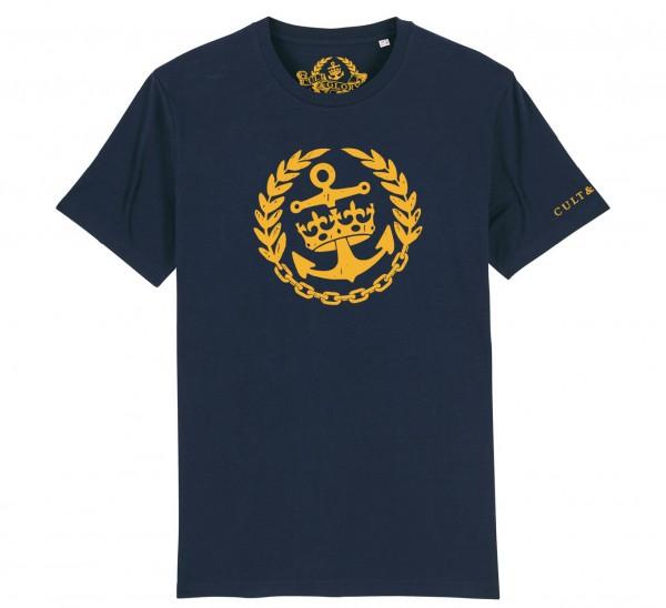 Cult & Glory Crown & Anchor Shirt 2019 - Navy Blue