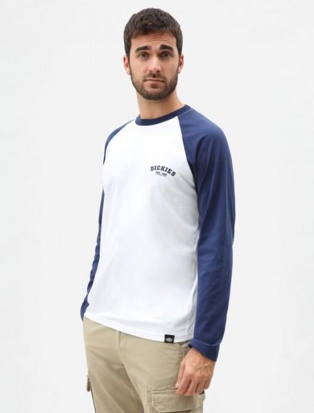 Dickies - Baseball L/S T-shirt - Deep Blue