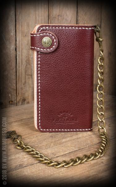 """RUM286B Rumble59 Leder Wallet """"2-Tone"""" - Cash Only"""