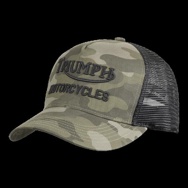 LCAS21404 Triumph Motorcycles OIL TRUCKER CAP  - Camo-Black