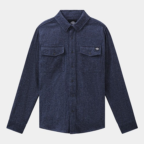 Dickies Woodmere Shirt - Dark Blue