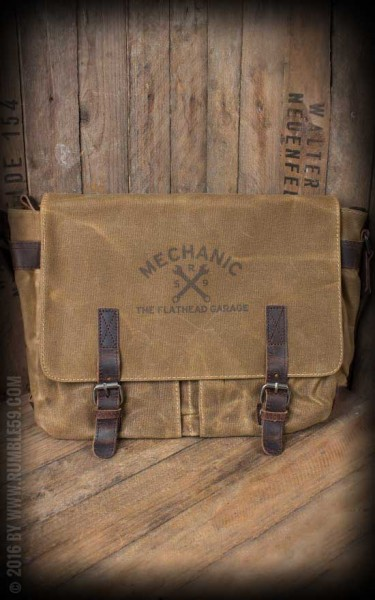 Rumble59 Canvas Workerbag The Flathead Garage