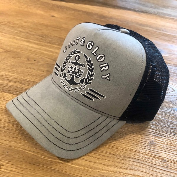 """Cult & Glory Trucker Cap """"Battleship"""""""