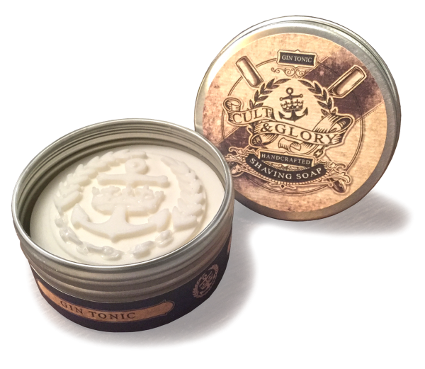 "Cult & Glory ""Gin Tonic"" Shaving Soap"