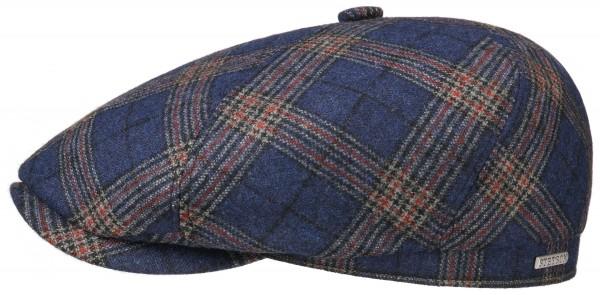 Stetson 6-Panel Cap Wool Check Karo/Glencheck