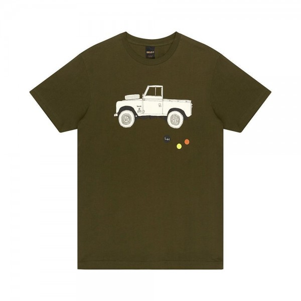 Deus Ex Machina  Carby Landie T-shirt - Forest Green